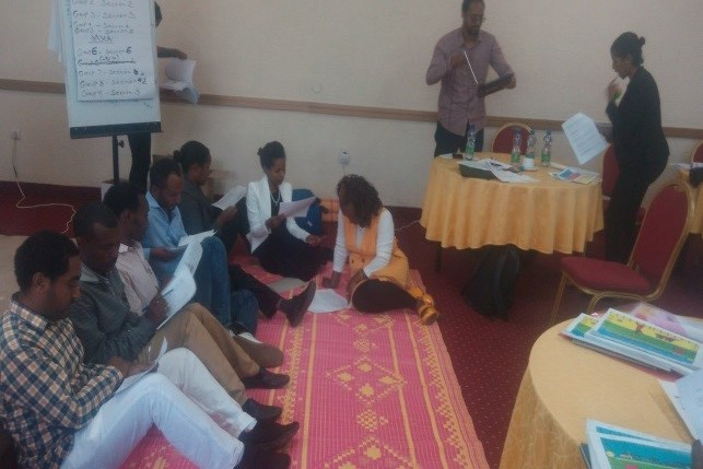 Training of Trainers for Ethiopia Safe Space Programme