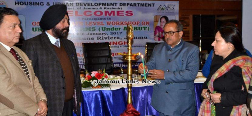Dy CM Inaugurates Interactive Workshop under AMRUT wherein IPE Global is Project Development Management Consultant (PDMC)