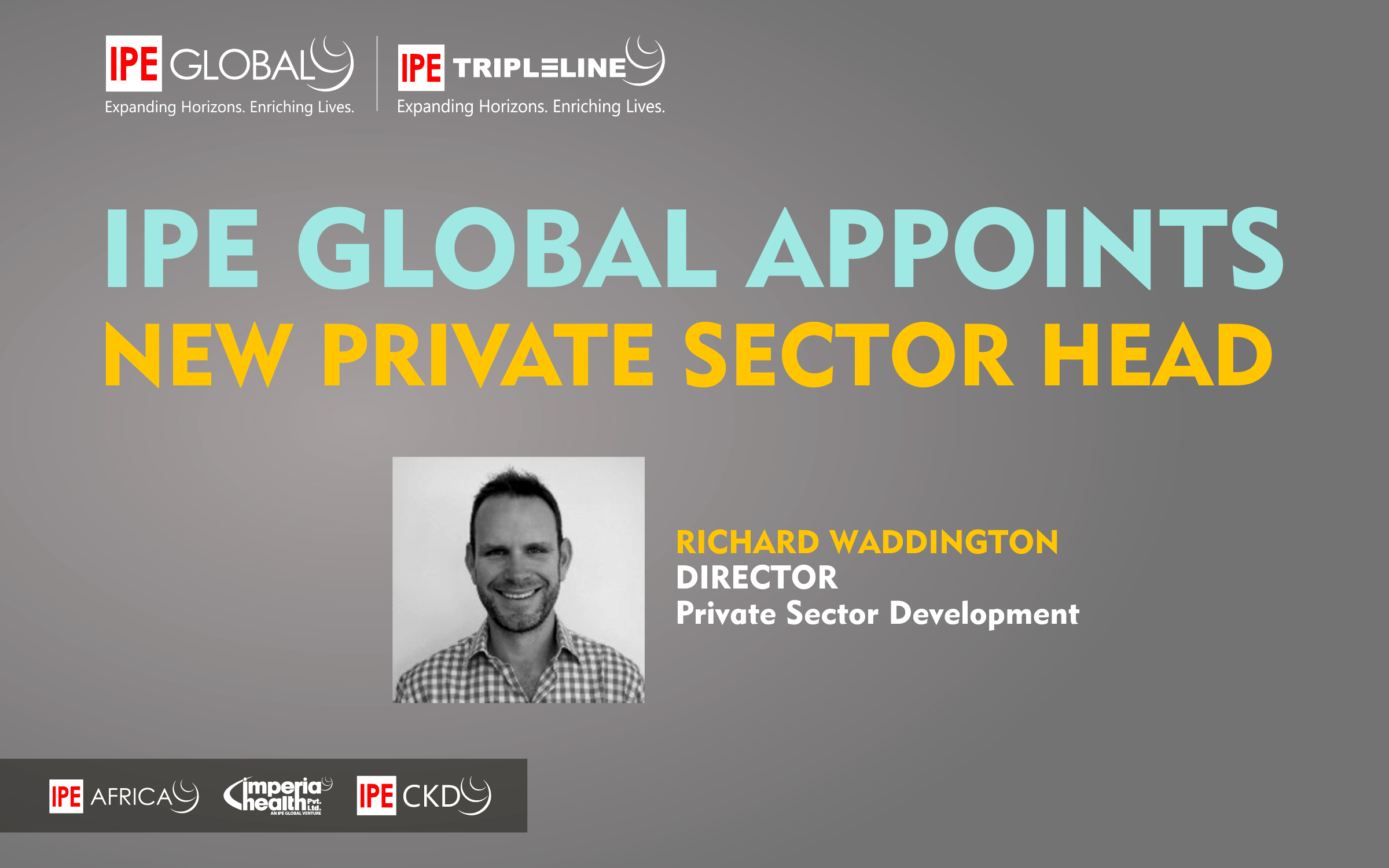 IPE Global continues to broaden its Private Sector Development capability