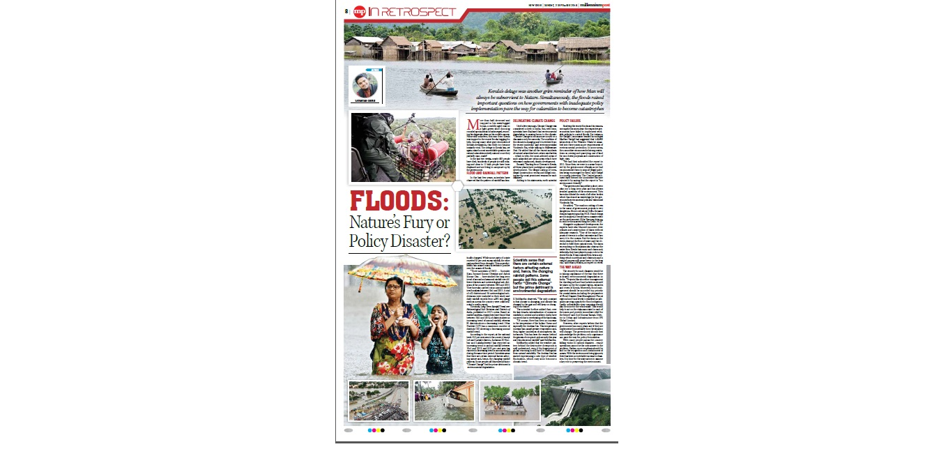 Anil Kumar Bansal features in Millennium Post on Kerala Floods