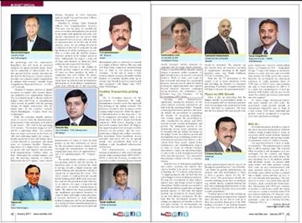 VAR India magazine features our views on 'Expectations from the Budget 2017-18'