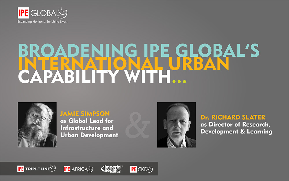 Broadening IPE Global's International Urban Capability