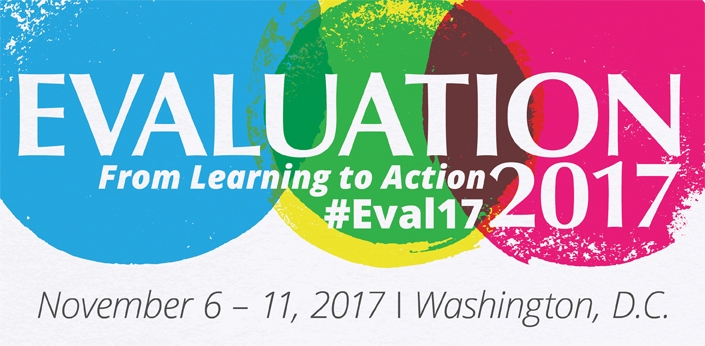 Clarissa Poulson speaks at American Evaluation Association (AEA) 31st Annual Conference