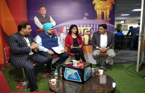 Ashwajit Singh and Anil Kumar Bansal appeared on Aaj Tak's digital channel Biz Tak for a LIVE chat show