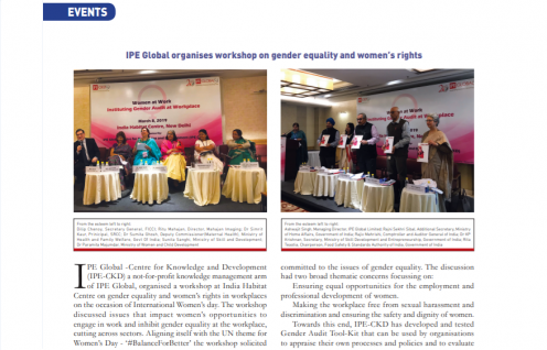 IPE Global gets exclusively covered in the Career Connect Magazine