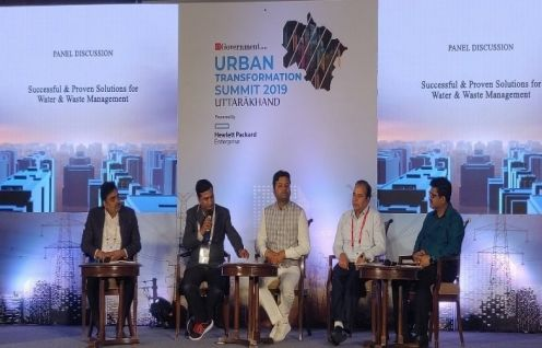 Anil Kumar Bansal, Director-UIT, IPE Global invited as the keynote speaker at the 'Urban Transformation Summit - Uttarakhand'