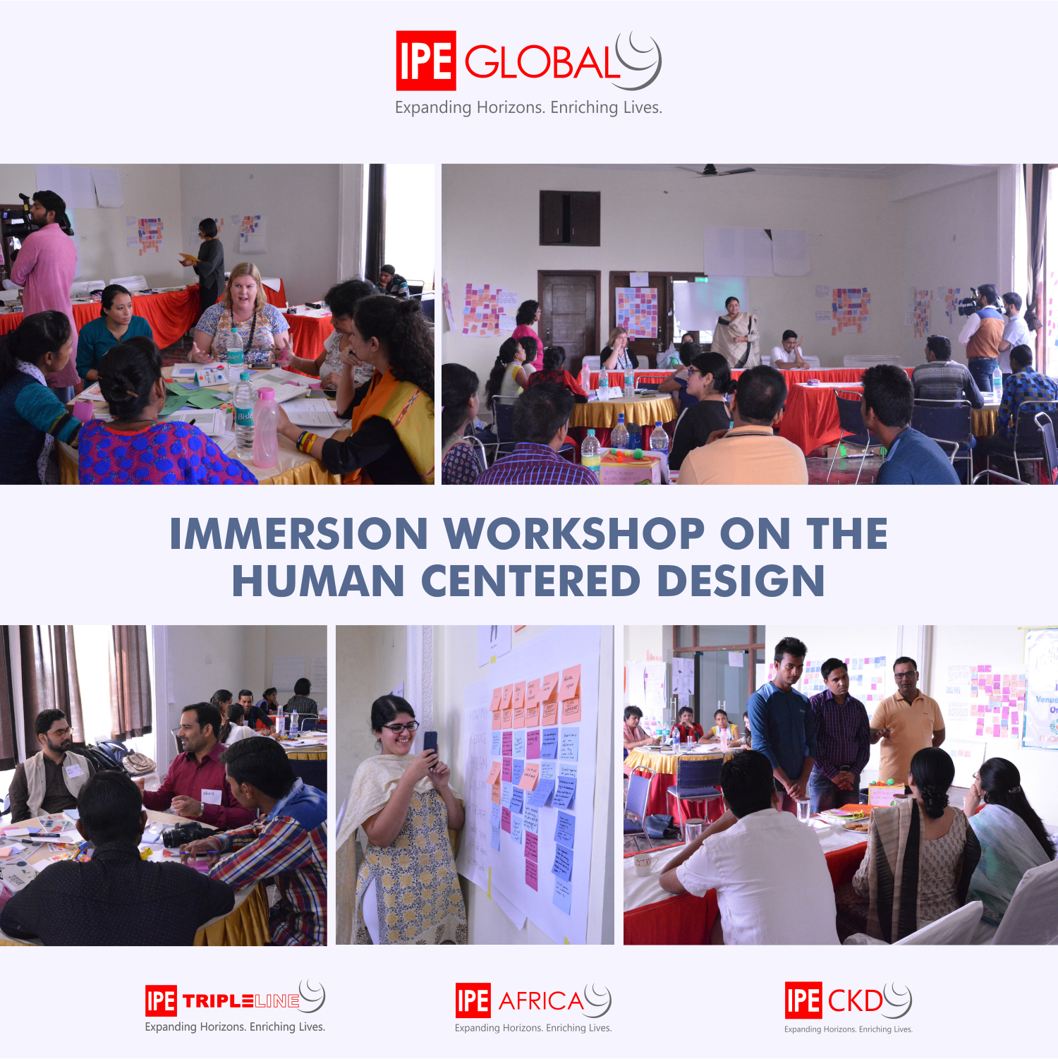 IPE Global & Government of Rajasthan facilitated a four day workshop under project Udaan