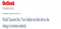Ashwajit Singh, MD IPE Global gets exclusive coverage in IANS on World Tourism Day