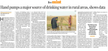 Dr. Dinesh Agarwal, Senior Technical Advisor- Health, Nutrition and WASH gets exclusively featured on Live Mint