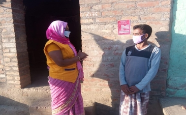 A tale of two Sakhis – Fighting Covid-19 Pandemic in India's villages