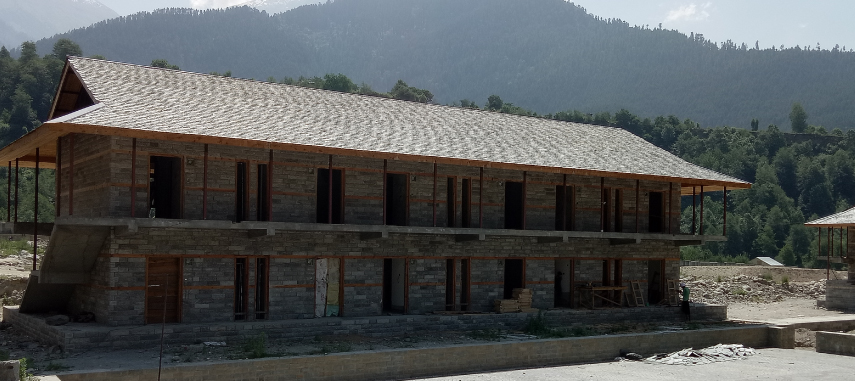Residential: Dormitory for master craftsmen, learners, youths, visiting students, visitors and tourists.