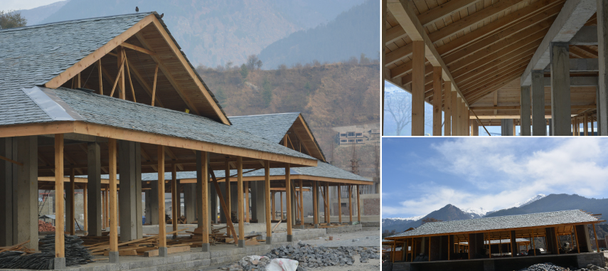 Centre for Traditional Arts & Crafts at Badagran near Manali
