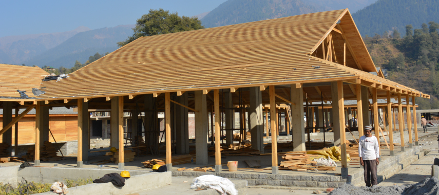 Creation of Centre for Traditional Arts & Crafts at Badagran near Manali