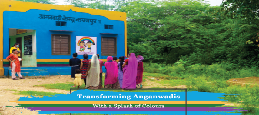 Transforming Anganwadis with a splash of colours