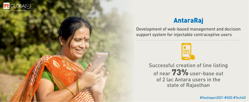 AntaraRaj - Development of web-based management and decision support systems